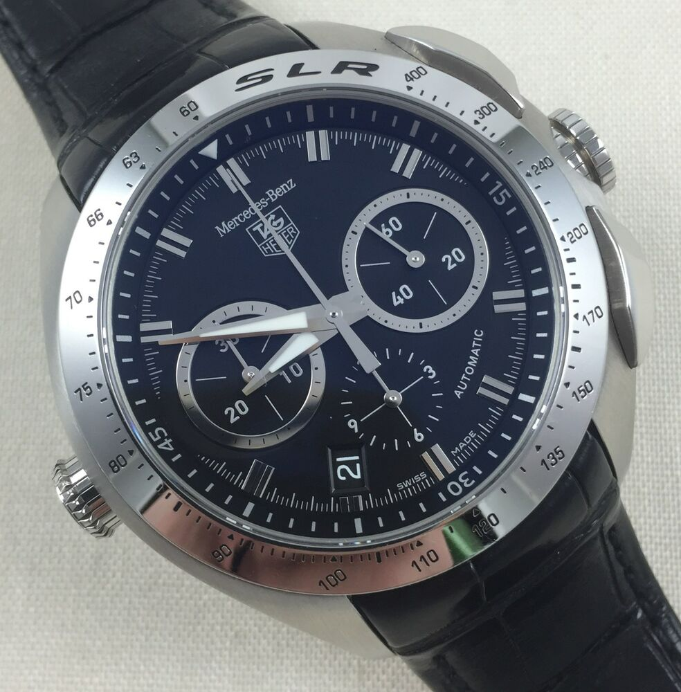 Tag heuer slr mercedes benz limited edition automatic for Mercedes benz watches collection