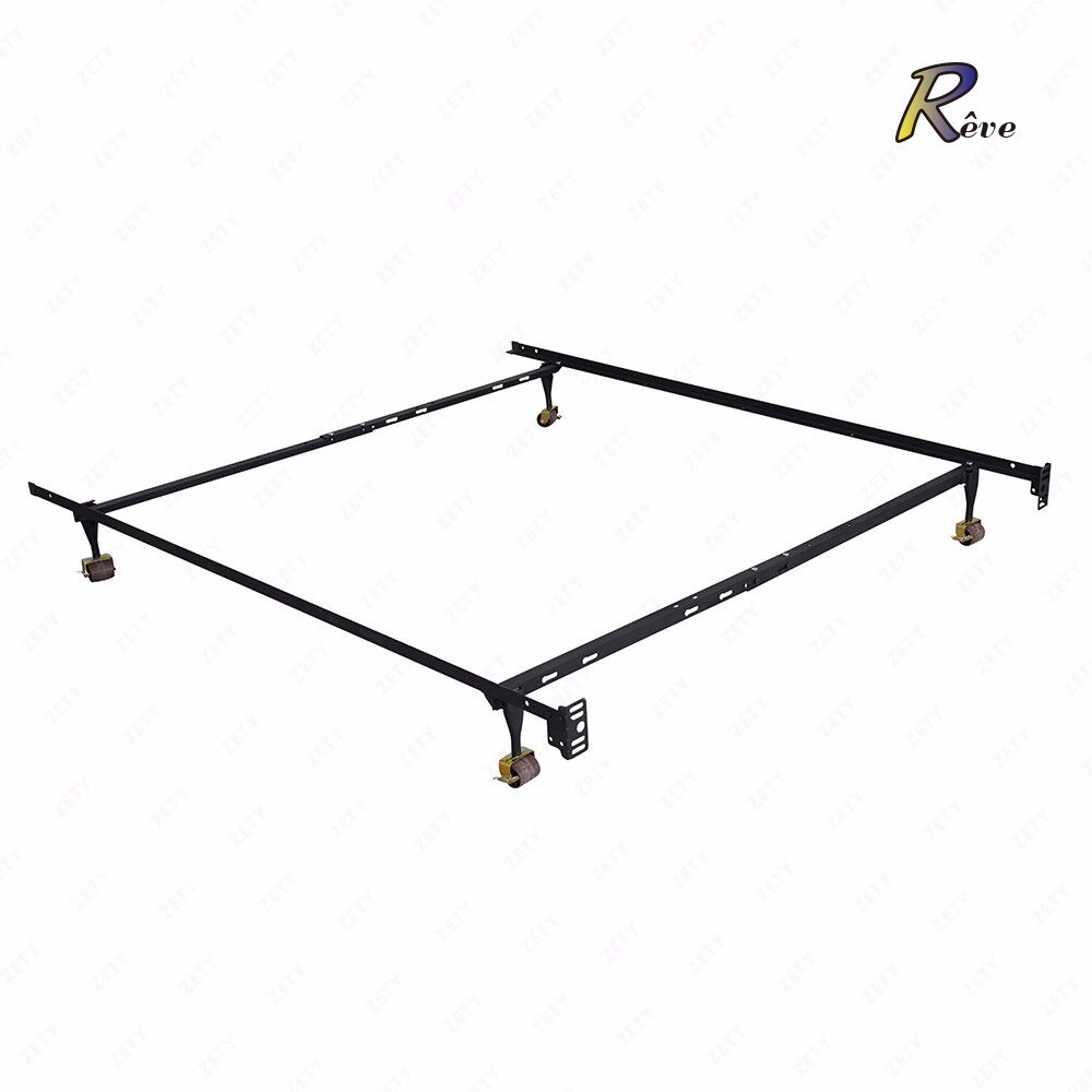 Adjustable Metal Bed Frame Heavy Duty Twin Full Queen Size