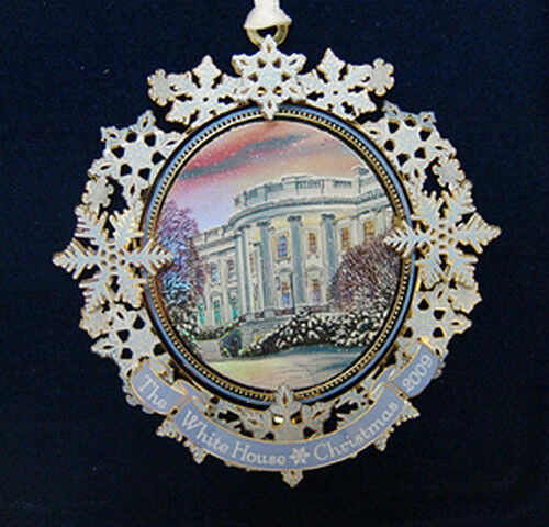 2009 The White House Historical Christmas Ornament