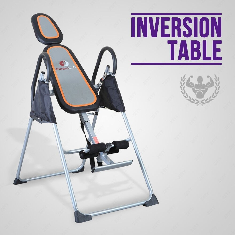 Premium inversion table foldable back neck relief for 1201 back therapy inversion table