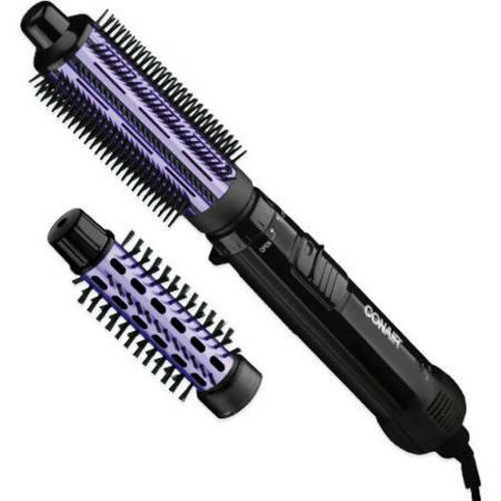 styling hair with brush conair curling brush amp 1 quot bristle brush ebay 8035
