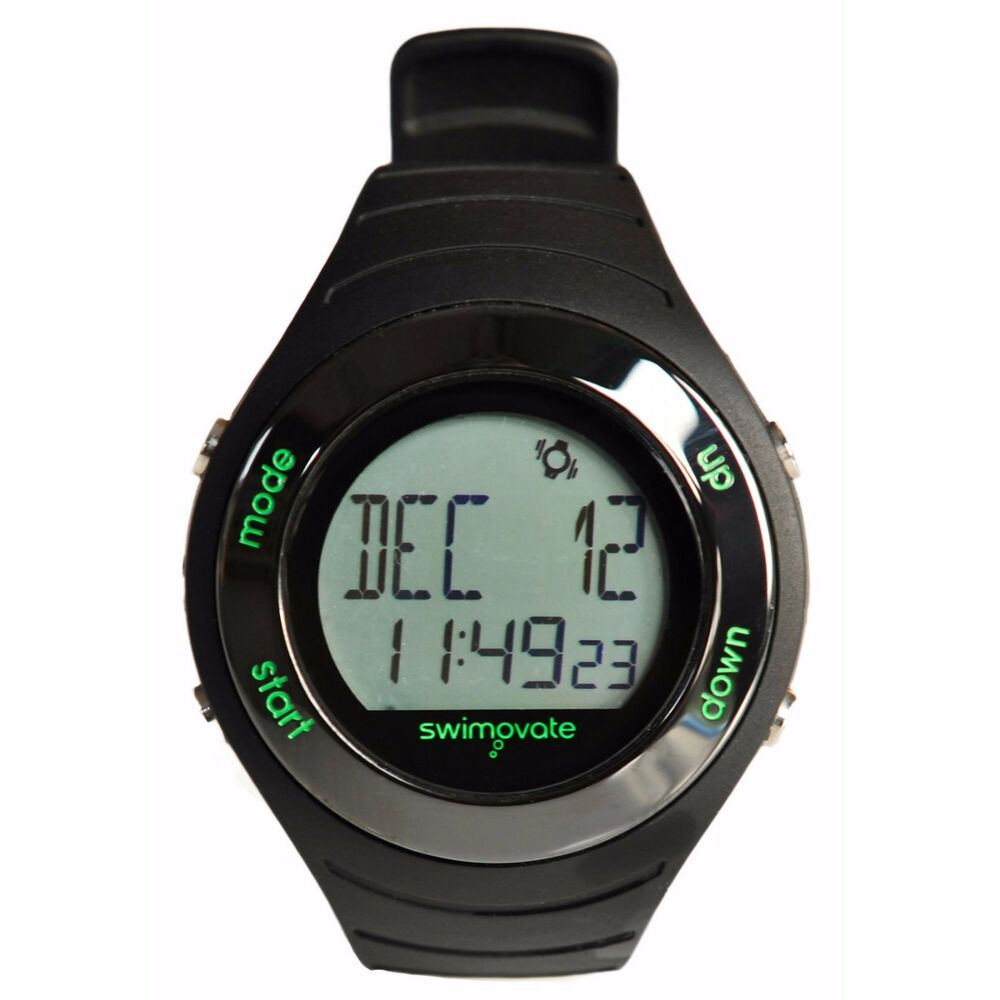 swimovate poolmate live swimming lap counting counter watch pool lenght cable ebay