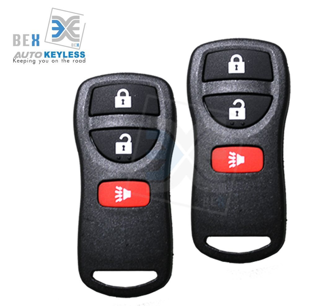 2 Keyless Entry Remote Key Fob Clicker Replacement Fit