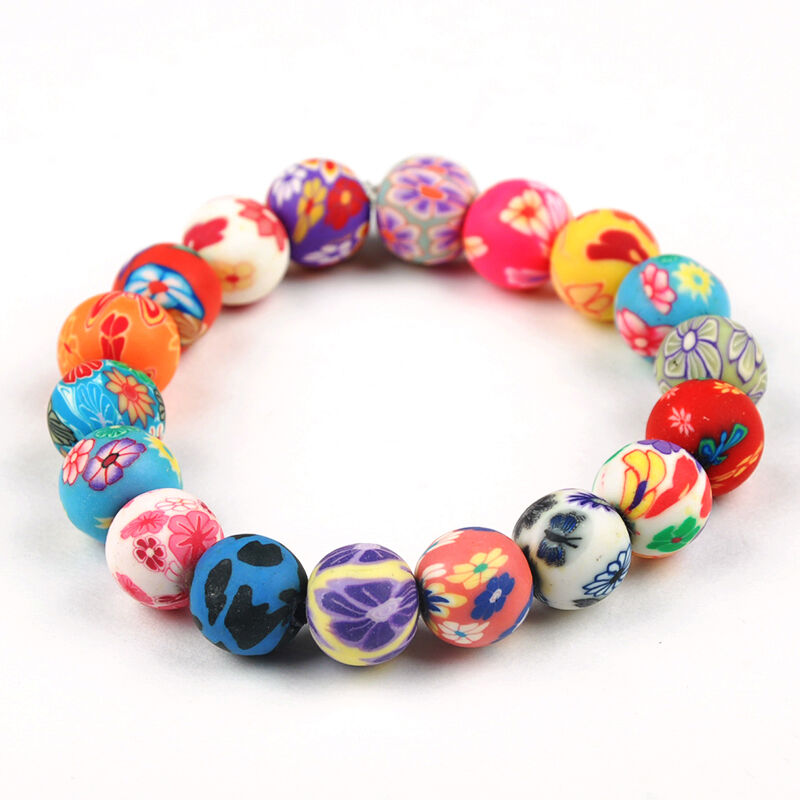 Wholesale Handmade Mix Lots Polymer Clay Colorful Girl's ...