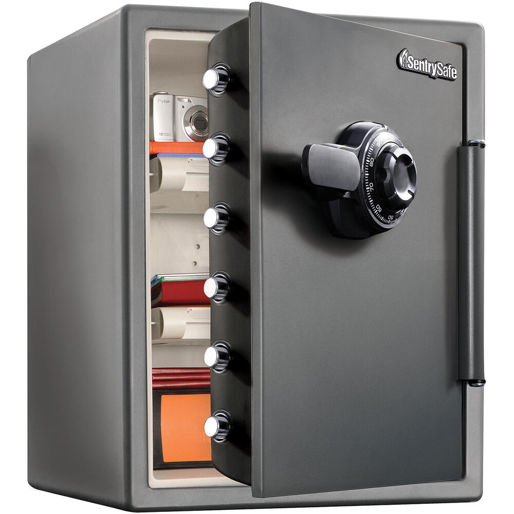 Extra Large Combination Safe Black Lock Box Fireproof Bolts Home Security New