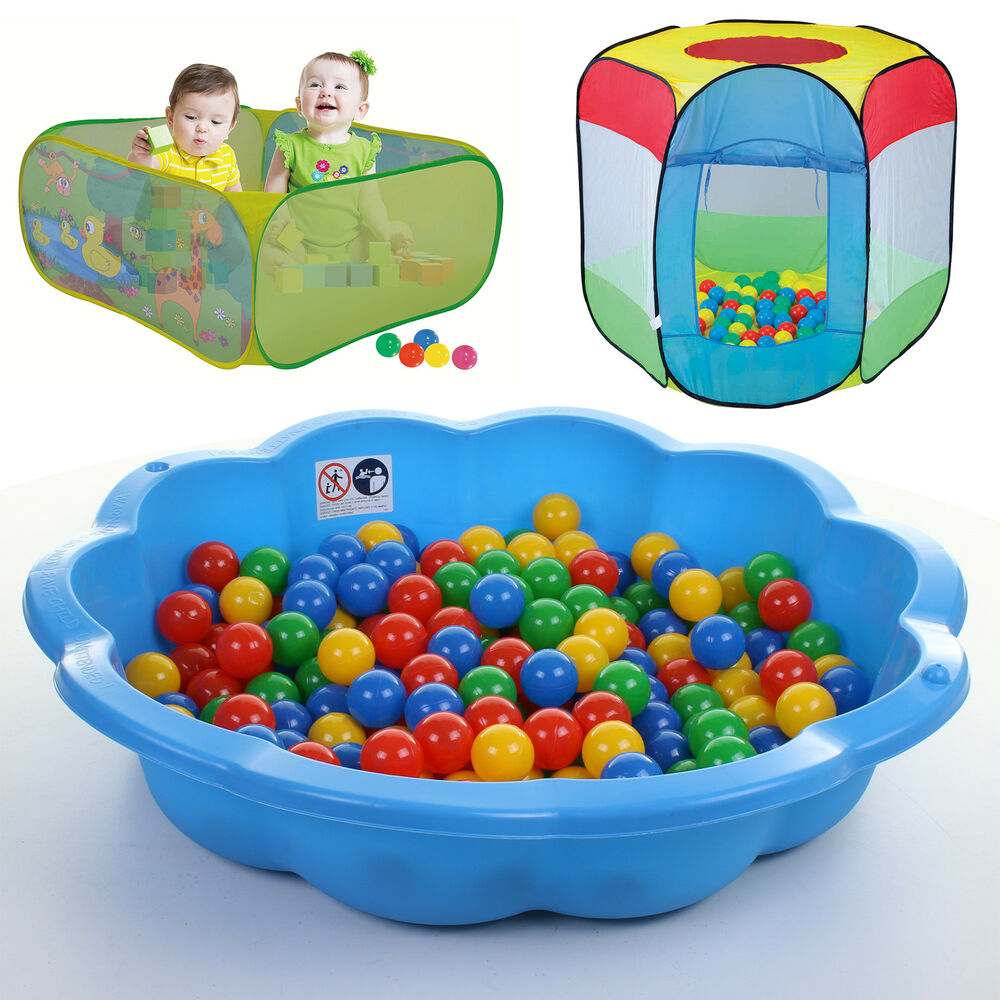 Sand Pit Ball Pit Paddling Pool Outdoor Play Area Shell