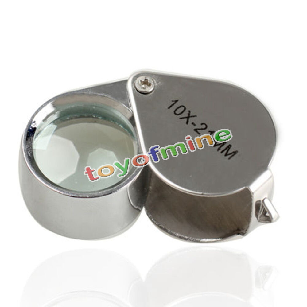 10x21mm glass led light magnifying magnifier jeweler eye. Black Bedroom Furniture Sets. Home Design Ideas
