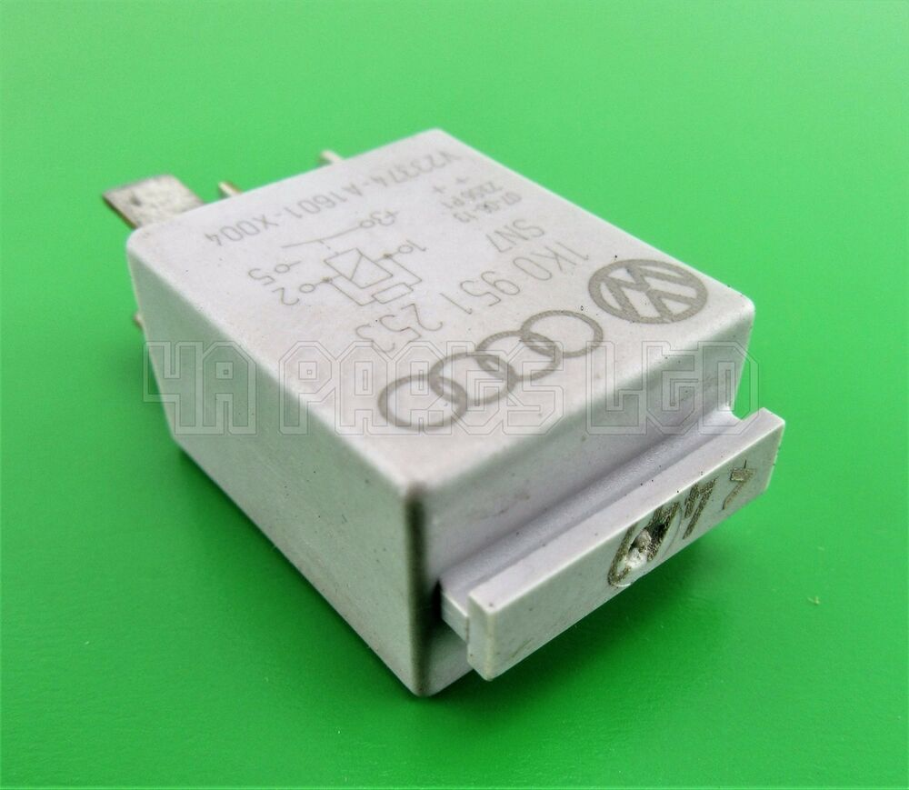 Audi Vw Seat Skoda Multi Use Silver Relay No 449 1k0951253 2014 Tt Fuse Box 0332011100 Ebay