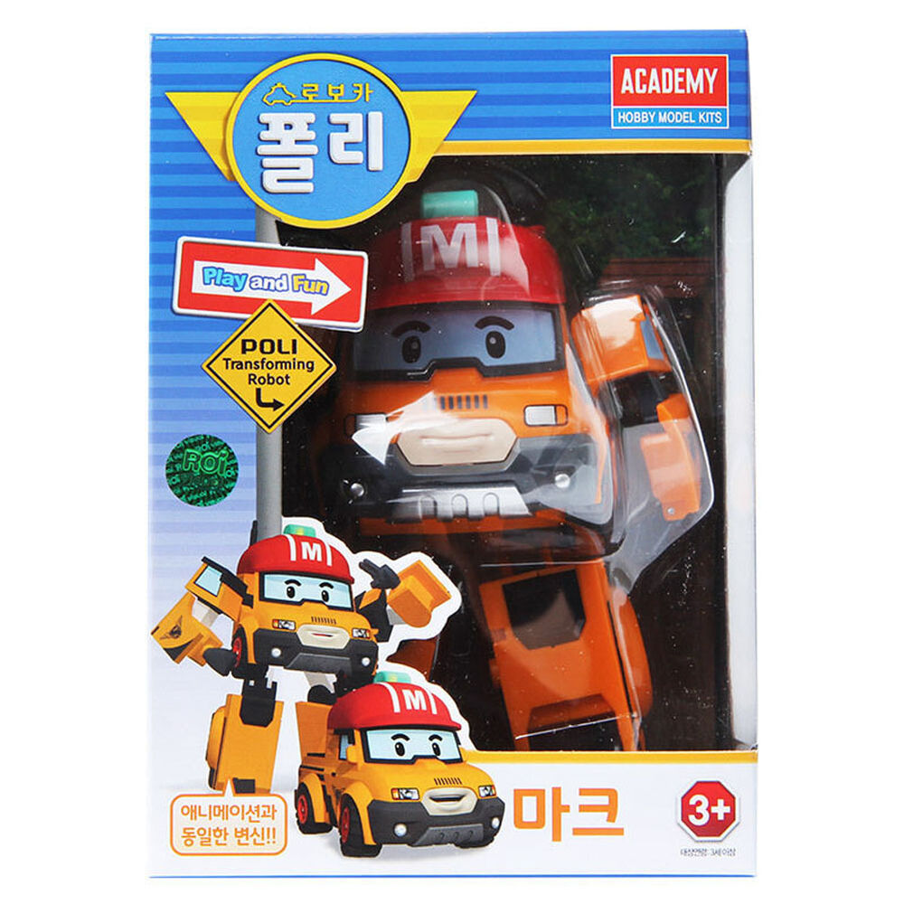 Robocar poli transformer mark transformation robot car - Robot car polly ...