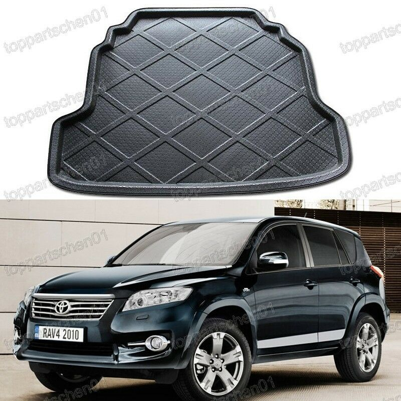 1pcs cargo mat trunk liner tray for toyota rav4 2007 2012. Black Bedroom Furniture Sets. Home Design Ideas
