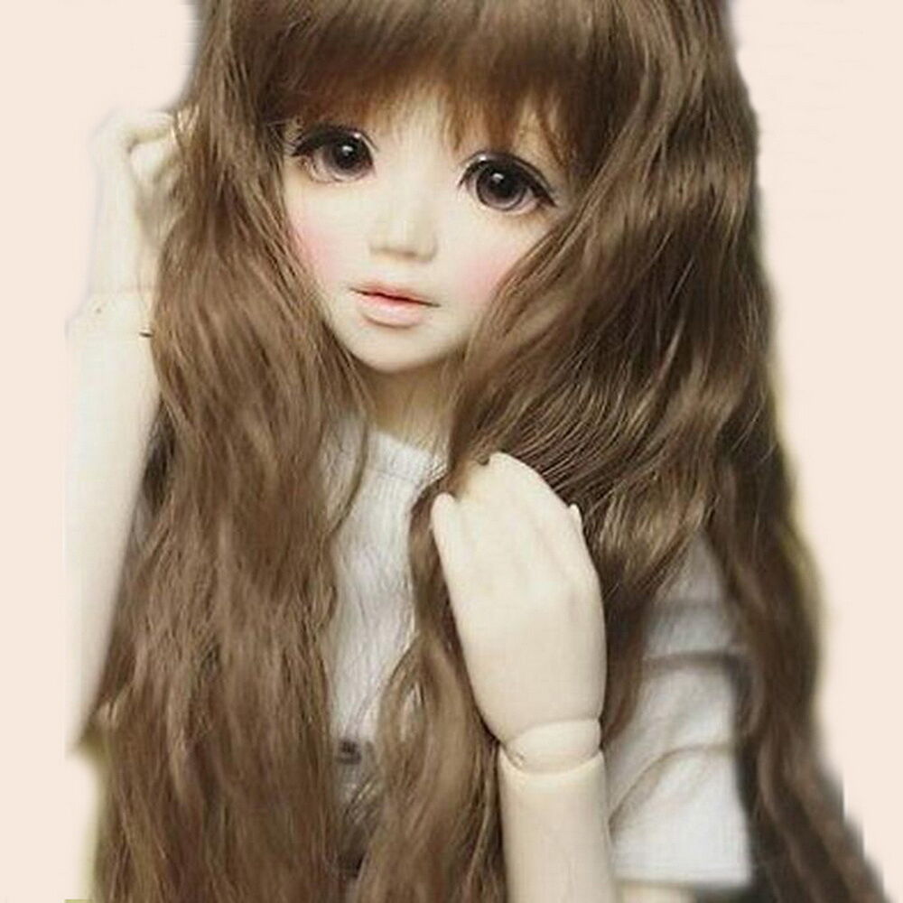 Beautiful 1/4 BJD doll Girl Unoa lusis big eyes with face ...