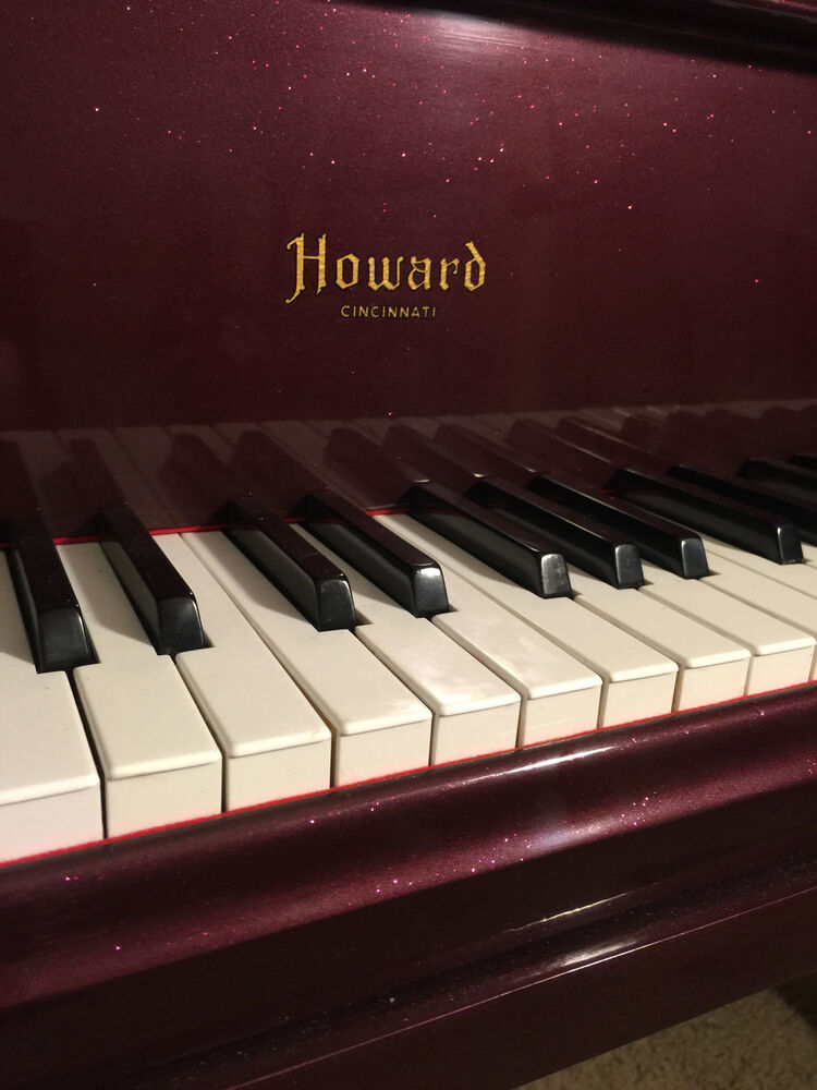 Howard Baby Grand Piano Made By Baldwin 1916 Ebay