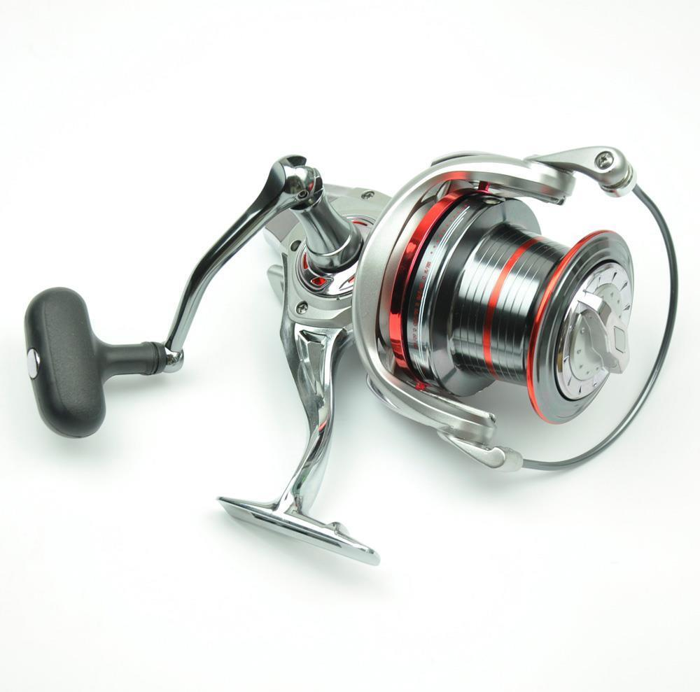Long shot saltwater spinning fishing reel 10000 15bb for Surf fishing reels