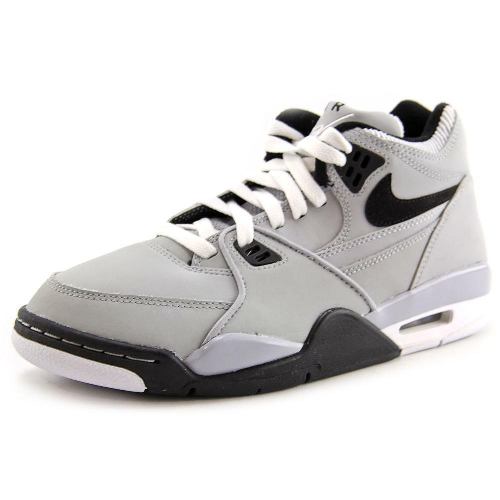 the best attitude 28eca 80ccd Details about 318003-004 Nike Air Flight  89 (GS) Wolf Grey Black-White New  In Box