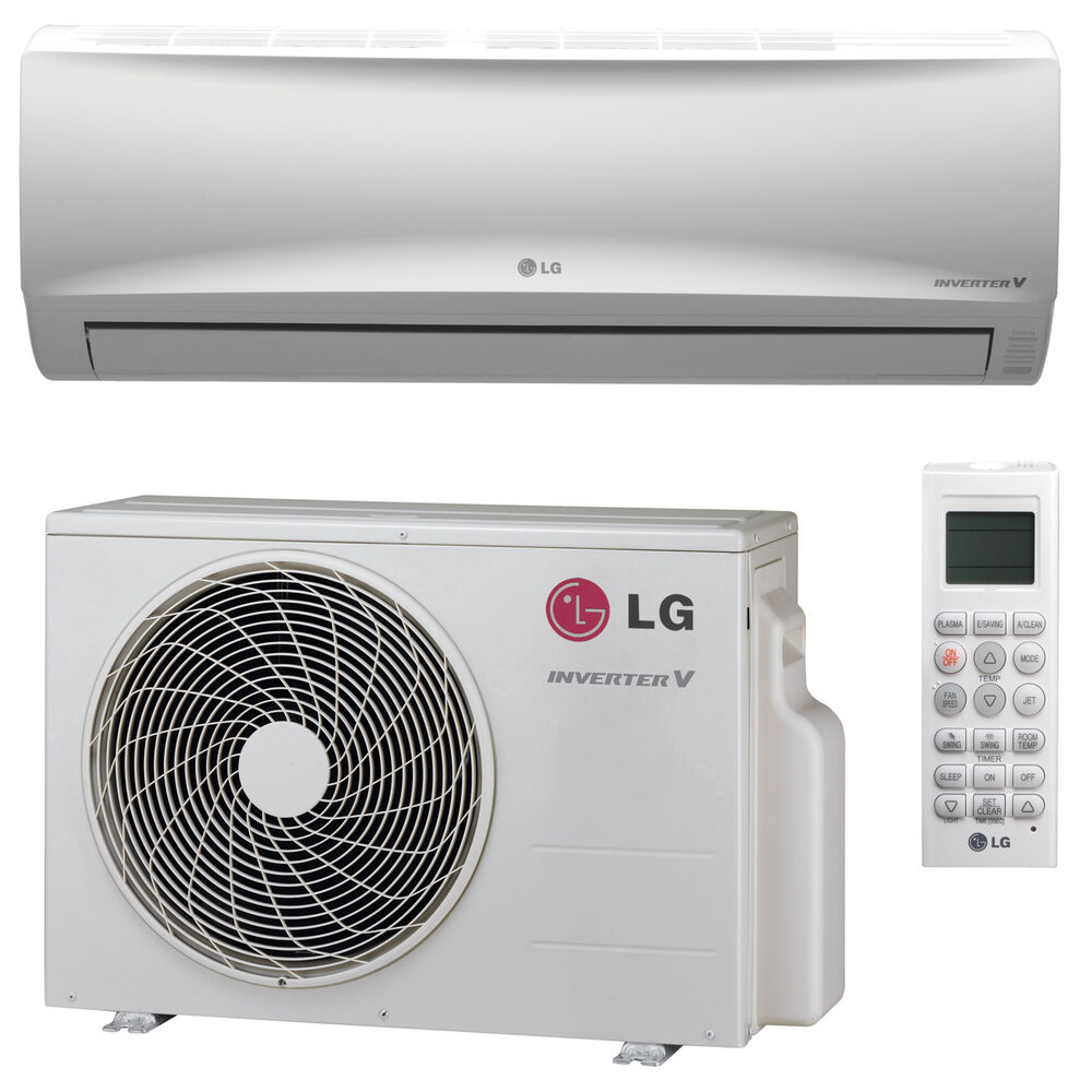 Lg ls120hev1 mega 12 000 btu 17 seer inverter mini split for 12 000 btu window air conditioner with heat