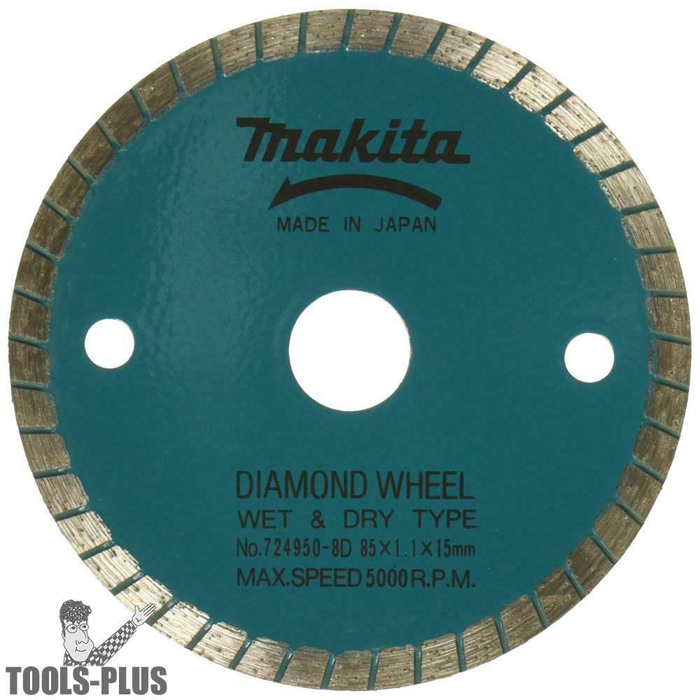 Makita 3 3 8 Quot Wet Dry Diamond Saw Blade 724950 8d New Ebay