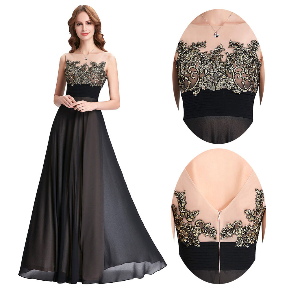 Vintage Women Bridesmaid Dress Formal Gown Party Cocktail ...
