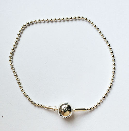 ff7259189 Details About Genuine Pandora Essence Silver Ball Chain Bracelet 596002  Free Delivery