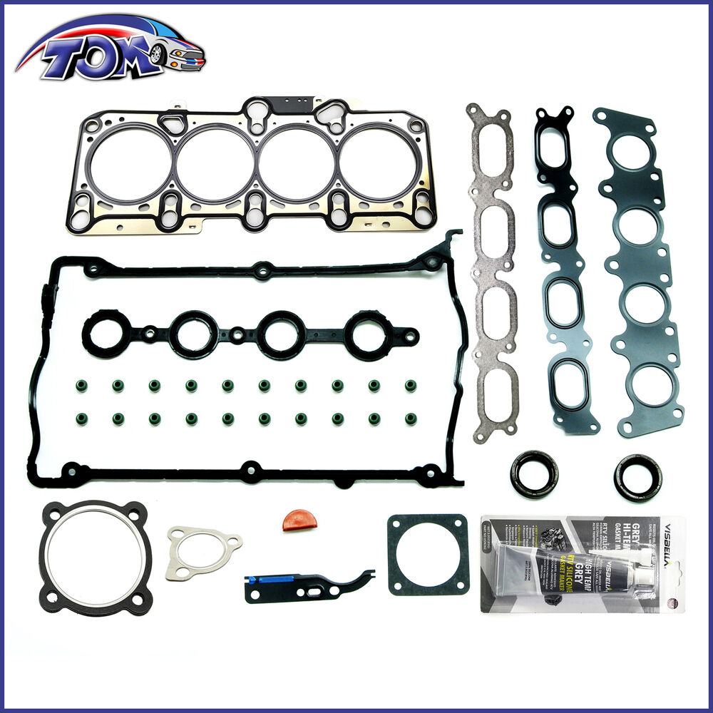 BRAND NEW ENGINE HEAD GASKET KIT FOR AUDI VW 1.8L TURBO ...