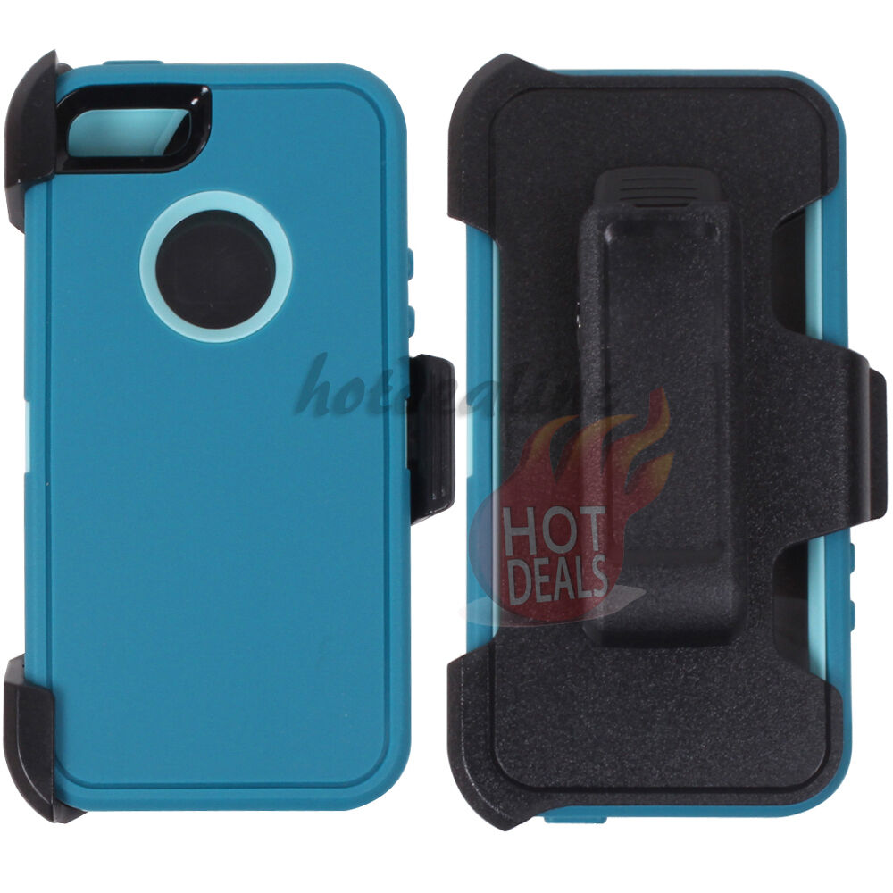 For Apple Iphone Se Turquoise Case Cover Belt Clip Fits