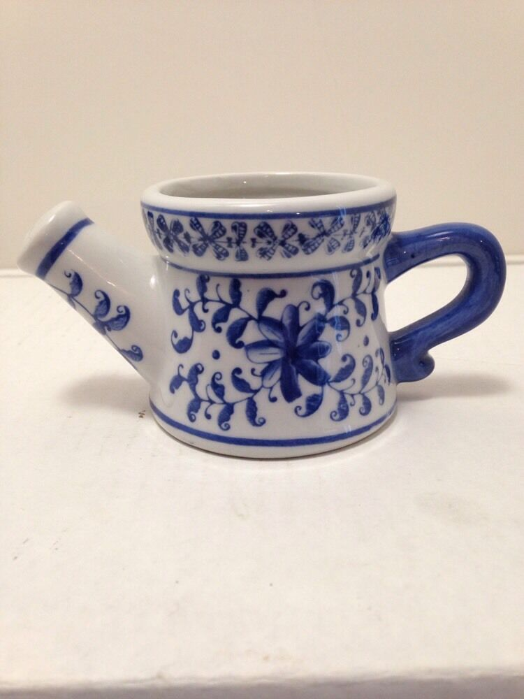 Miniature Ceramic Watering Can Ebay