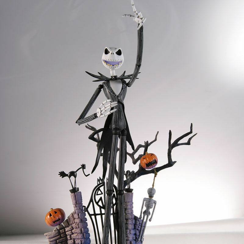 The Nightmare Before Christmas Jack Skellington PVC Action ...