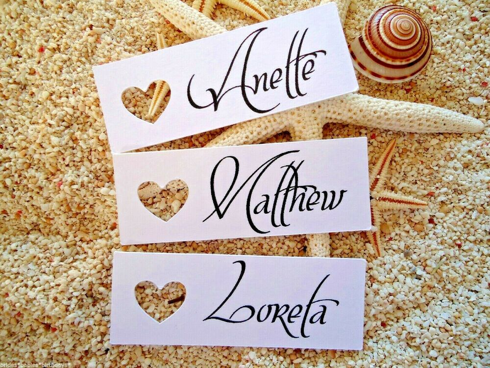 Wedding Favor Tags Ebay : ... Gift Tags Wedding Favour Personalised Bomboniere Place Cards eBay