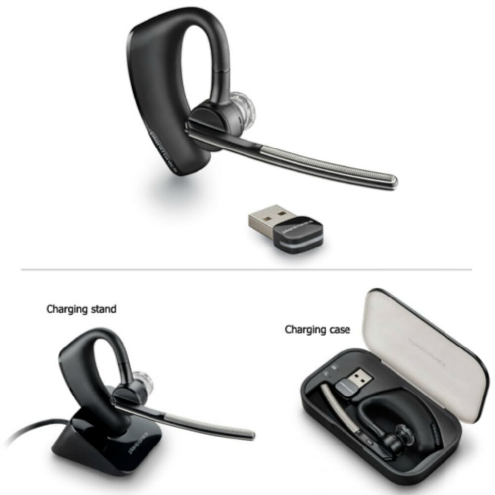 New Plantronics Voyager Legend UC B235-M Bluetooth Headset ...