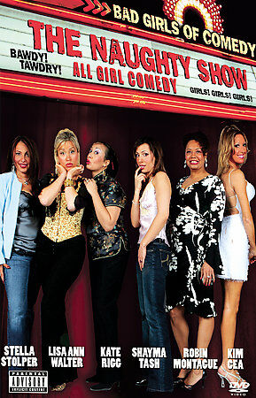 Details About The Naughty Show Bad Girls Of Comedy Dvd 2005 Brand New Sealed Dvd