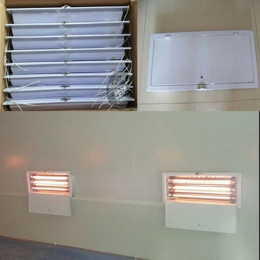 8 Sets X 3kw Spray Baking Booth Infrared Paint Curing Lamp Heating Lights Heater Ebay