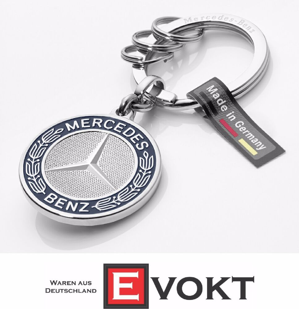 Mercedes benz 2016 collection silver keyring stuttgart for Mercedes benz key chain accessories