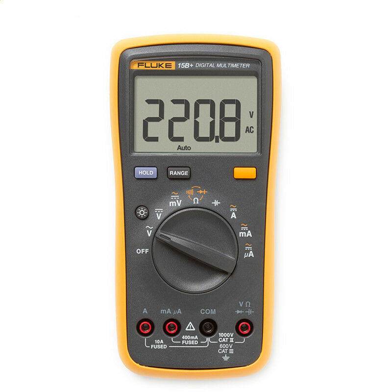 Fluke Voltmeter Tester : True new fluke b f digital multimeter tester dmm