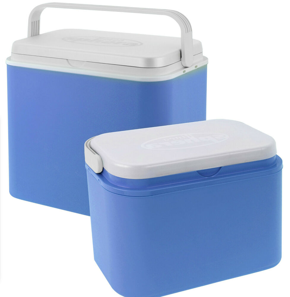 24 Litre Or 10 Litre Cooler Box Picnic Insulated Box With