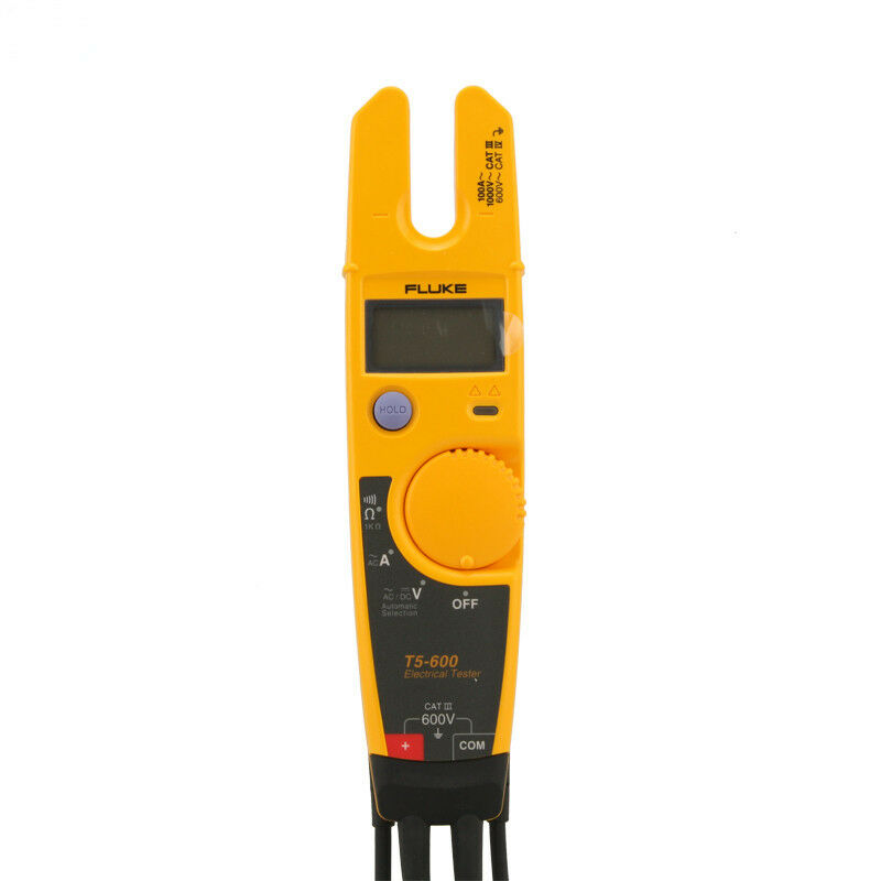Fluke Voltmeter Tester : New fluke t electrical tester digital multimeter for