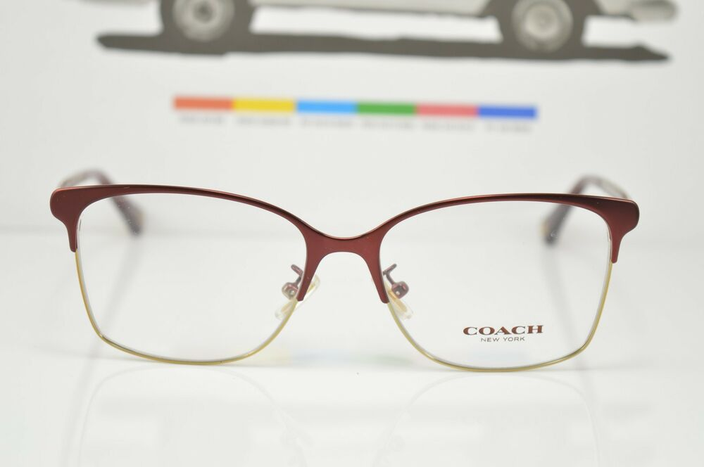 Eyeglass Frame Only : 5048 9167 COACH New Authentic EYEGLASSES FRAME 52-15-135 ...