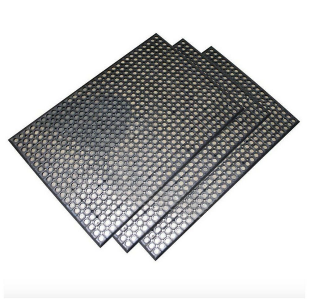 Rubber Anti Fatigue Mat Kitchen Floor Commercial