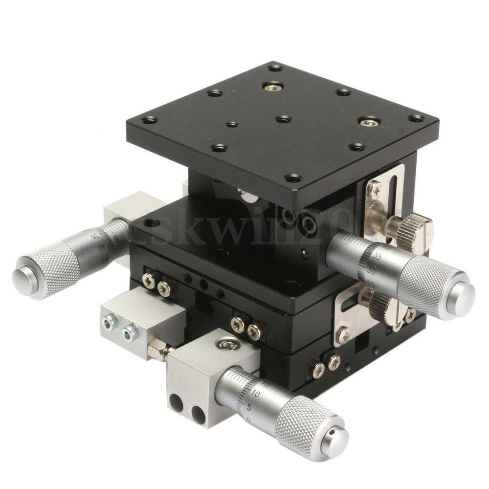 Xyz 3 Axis Linear Stage Trimming Platform Bearing Tuning