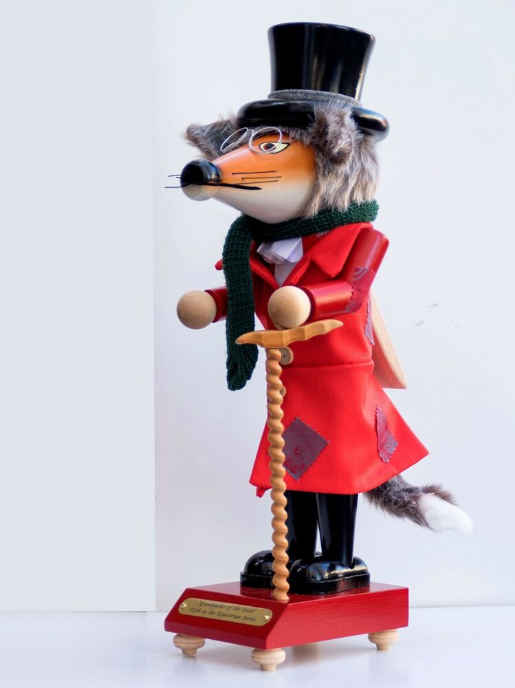 Christian Steinbach German Nutcracker Fox Grandfather Of