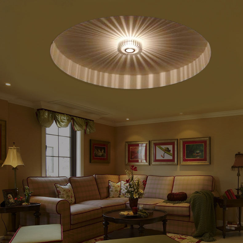 Jinko Led 5w Integrated Ceiling Lamp Bedroom Kitchen: 3W Creative Surface Mounted LED Recessed Ceiling Light