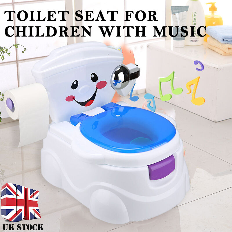Baby Child Toddler Kids Musical Toilet Potty Trainer