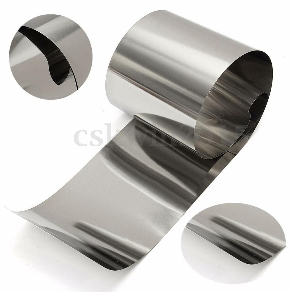 Stainless steel fine plate thin sheet rust resistance foil
