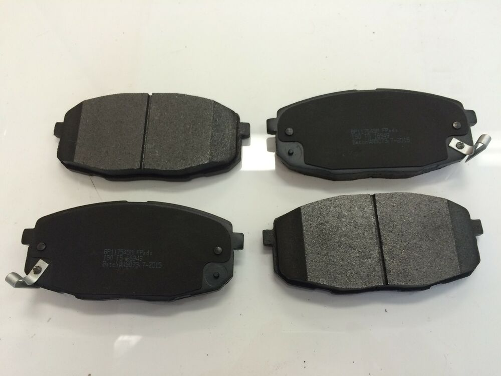 front brake pads suit db1754 sm hyundai i30 fd gd kia cerato td ebay. Black Bedroom Furniture Sets. Home Design Ideas