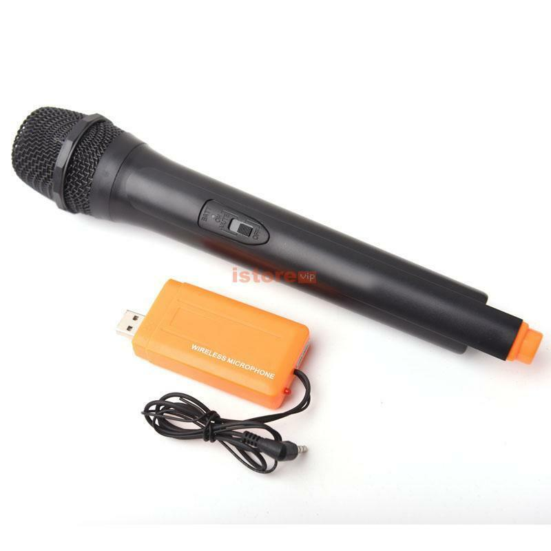 usb handheld multimedia wireless microphone mic receiver undirectional karaoke ebay. Black Bedroom Furniture Sets. Home Design Ideas