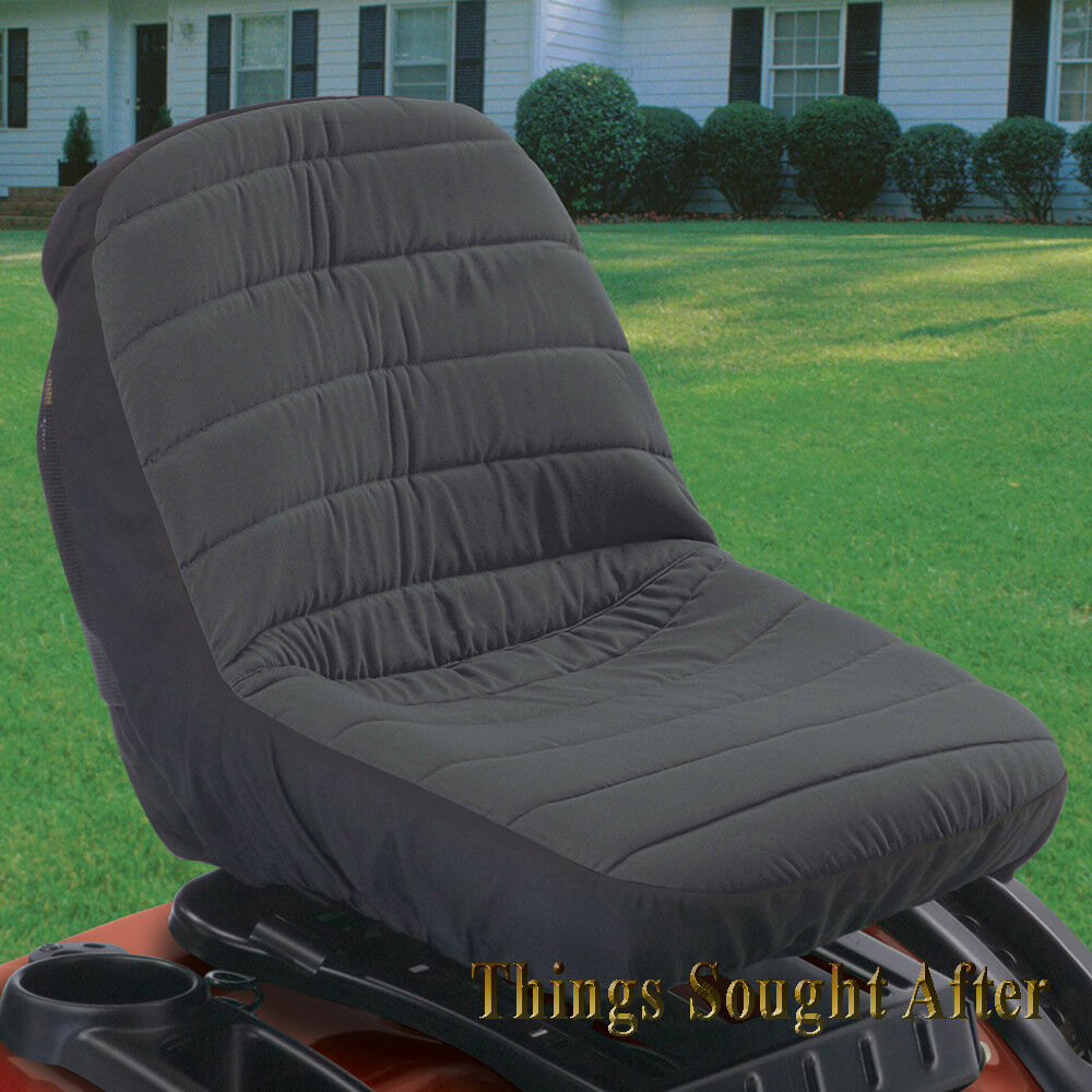 Riding Tractor Seats : Large lawn tractor seat cover for john deere mtd cub cadet