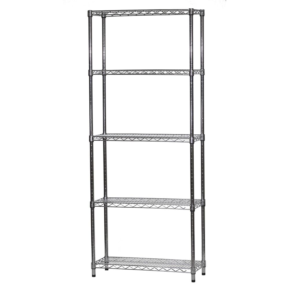 12 Quot D X 30 Quot W Wire Shelving With Five Shelves Ebay