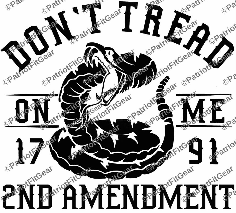 Dont Tread On Me 1791 2nd Amendment Guns Molon Labe