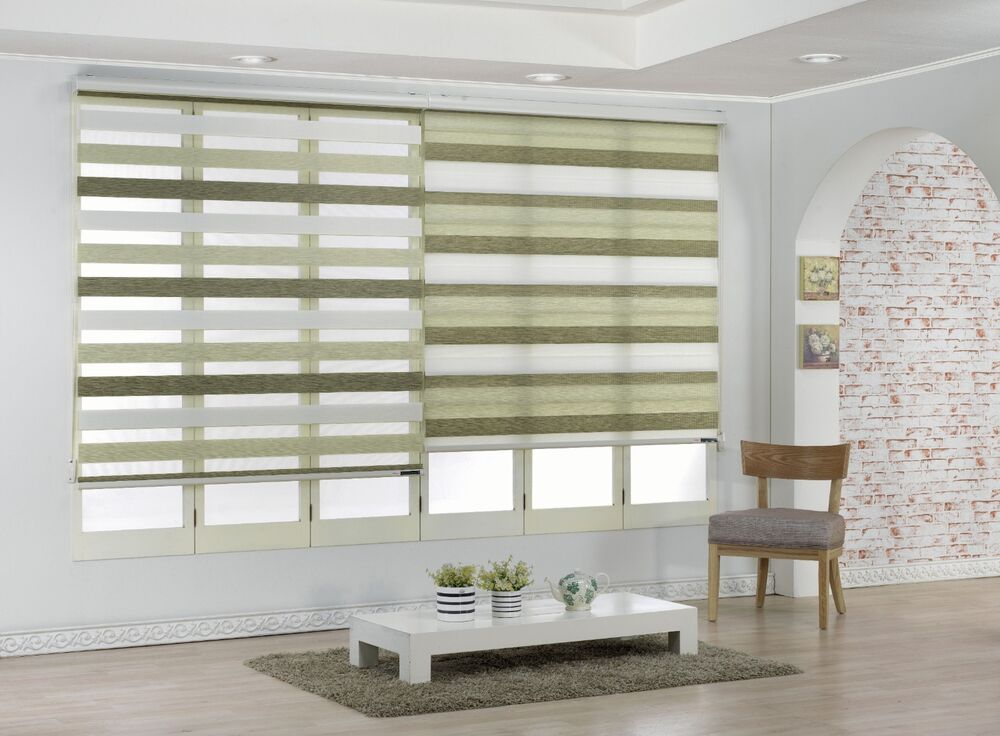 Grace Roller Window Blind Treatment Shade Horizontal
