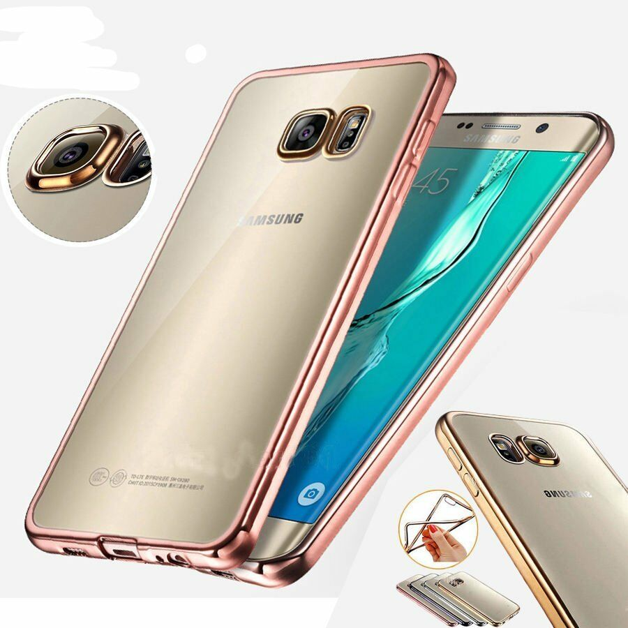 Hot ! ShockProof Silicone Rubber Clear Case Cover For Samsung Galaxy Models   eBay