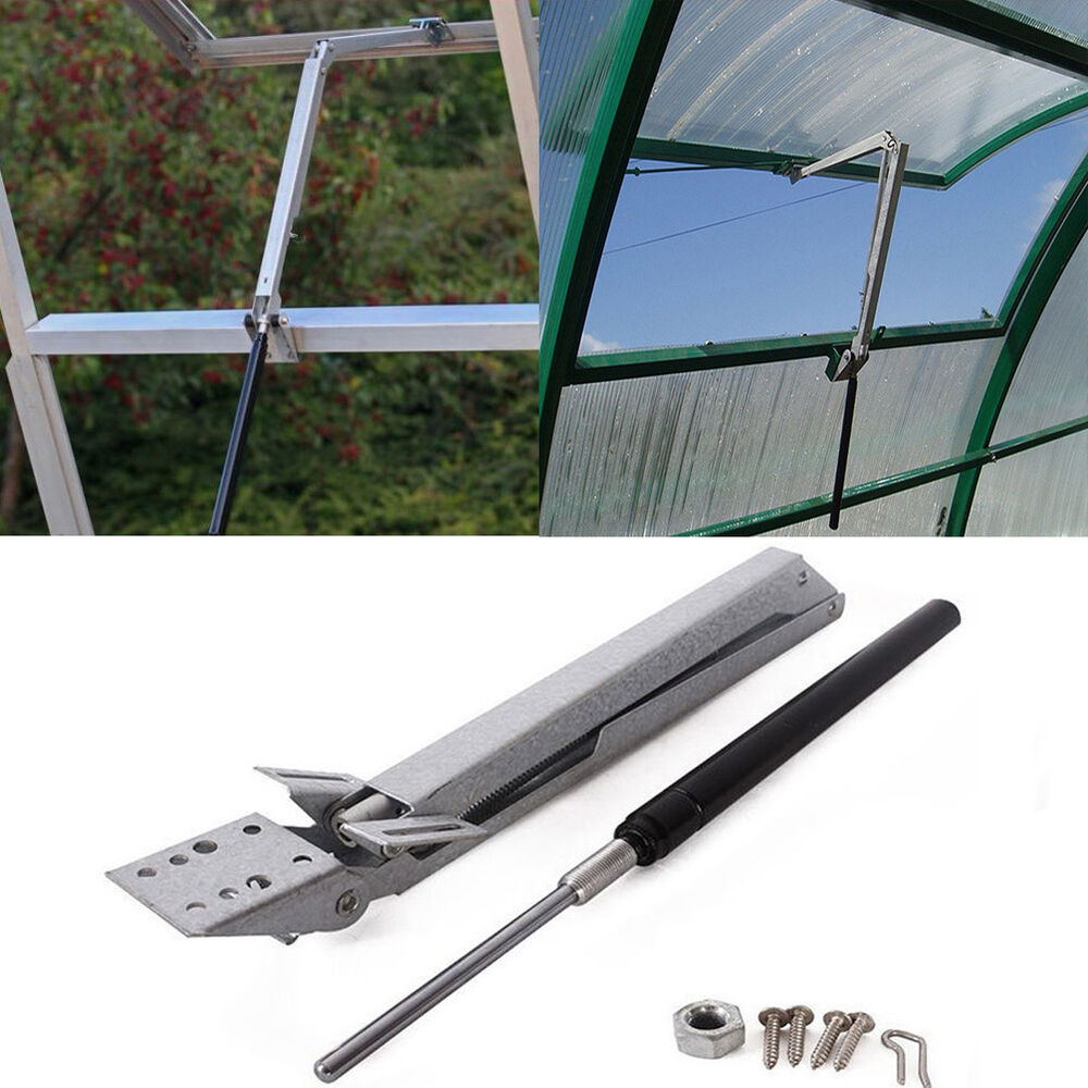 Greenhouse Solar Automatic Open Amp Close Vent Window Roof