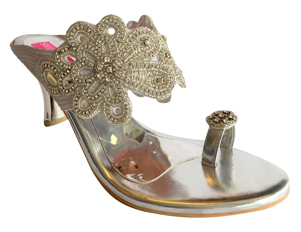 Lastest Buy Unze London Women Indian Bridal Sandals L17850 At Fruugo Prices